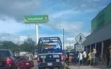 Las fuerzas policiales implementaron una movilización en la zona y hasta el momento no han localizado a la mujer ni a la bebé. / Foto: Ulises López